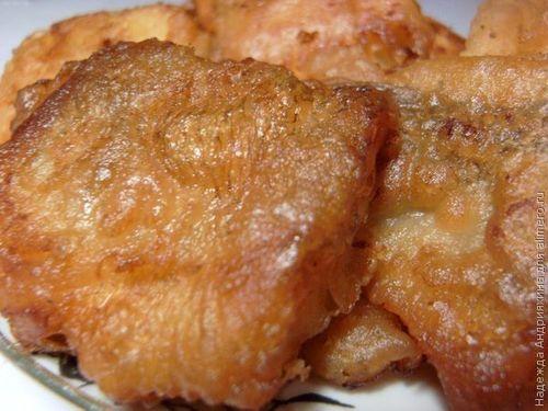 Мягкая и сочная рыбка в пышном и хрустящем кляре на минералке