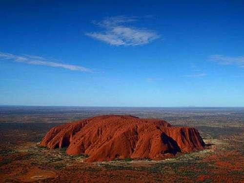 Гора-слон – священное место для аборигенов