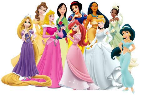 """Как Дисней и его принцессы """"обрабатывают"""" девочек"""