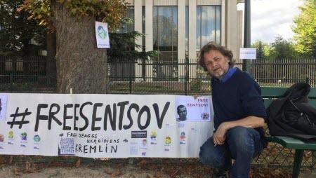 «Последняя битва Сенцова»: французские режиссеры объявили голодовку у российского посольства