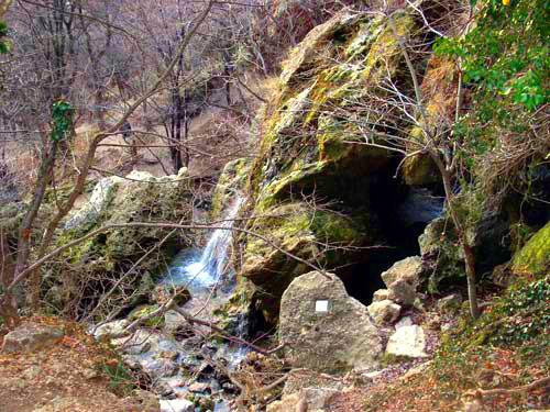 Достопримечательности Украины: Красные пещеры или Кизил-Коба
