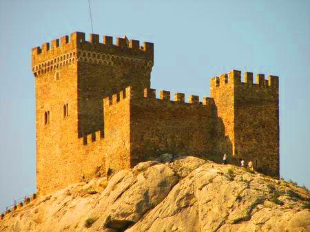 Достопримечательности Украины: Генуэзская (Судакская) крепость