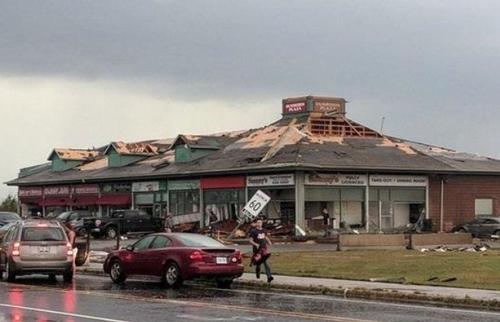 Торнадо в Канаде: известно о 25 раненых