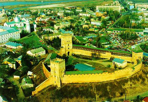 Достопримечательности Украины: Луцкий замок или замок Любарта