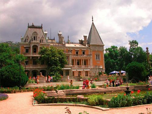 Достопримечательности Украины: Массандровский дворец
