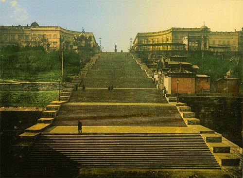 Достопримечательности Украины: Потемкинская лестница