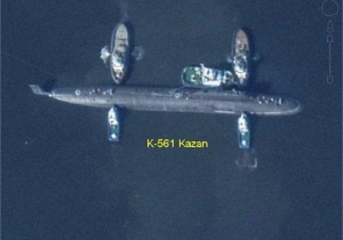 Катастрофа на российской атомной подводной лодке