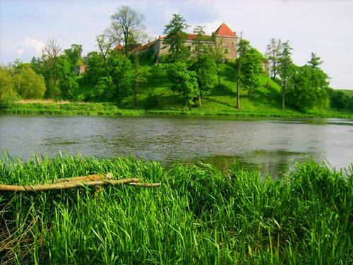 Достопримечательности Украины: Замок Свирж