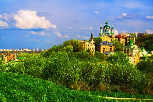 Достопримечательности Украины: Замок Ричарда Львиное сердце