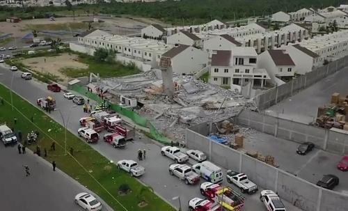 В Мексике рухнул торговый центр