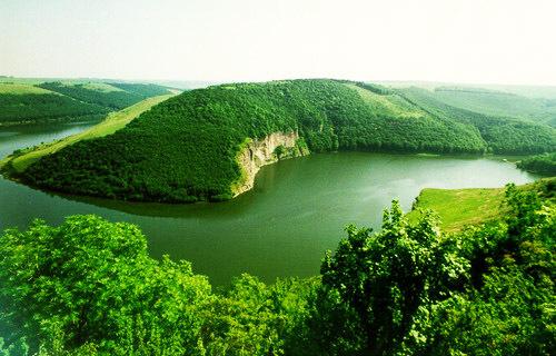 Достопримечательности Украины: Национальный природный парк Подольские товтры