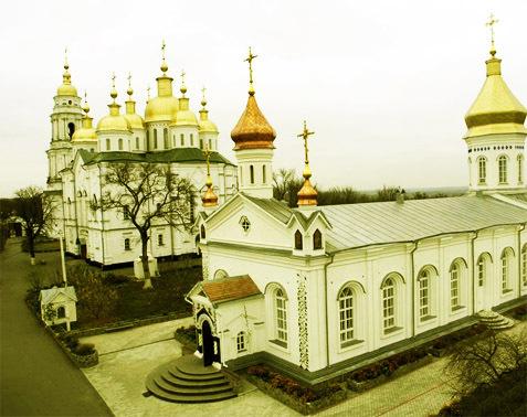 Достопримечательности Украины: Полтавский Крестовоздвиженский монастырь
