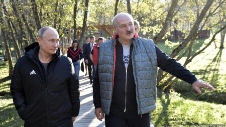 Путин готовит аншлюс Беларуси