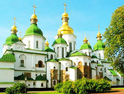Достопримечательности Украины: Софийский собор