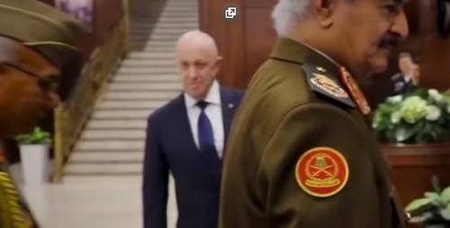 Ливийский фельдмаршал Хафтар встретился с Шойгу и Пригожиным