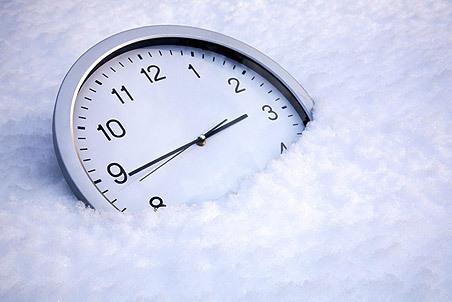 О странных последствиях перехода на зимнее время