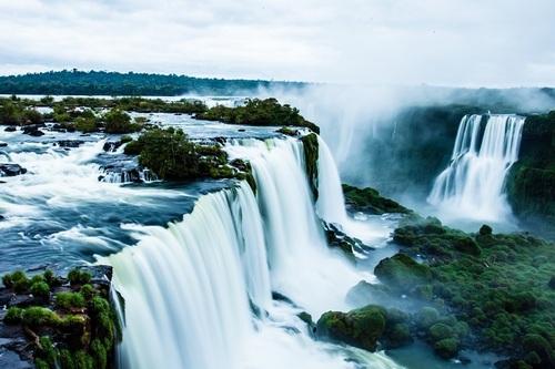 Притягательная сила водопадов