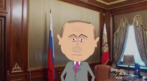 Путин после укола сыворотки правды дает интервью программе Zapolskiy (ВИДЕО)