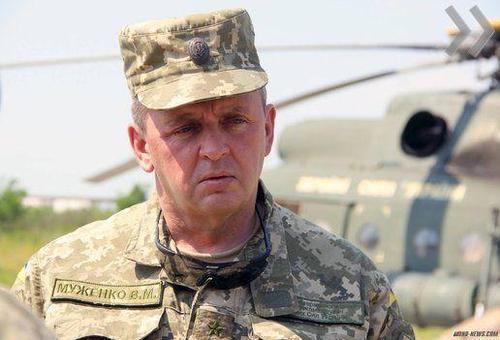 Муженко: Угроза войны с Россией сейчас — на уровне 2014 года