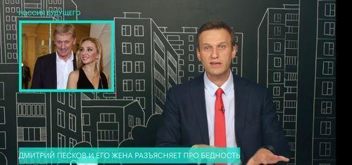 Навальный рассказал о бизнесе семьи Пескова в Крыму и предложил пресс-секретарю Путина подать на него в суд