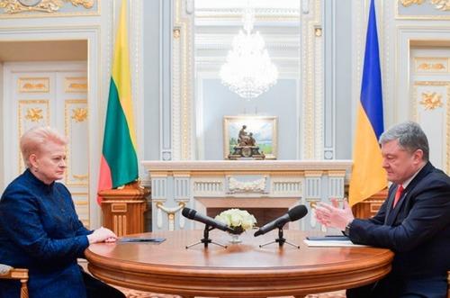 РФ угрожает лично чиновникам Литвы за санкции в поддержку Украины, - Грибаускайте