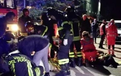Давка на рэп-концерте в Италии унесла жизни 6 человек, более 100 пострадали