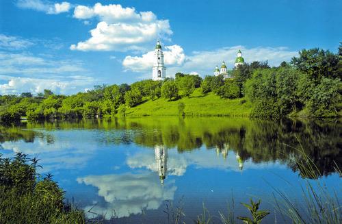 Достопримечательности Украины: Полтавская область - Мгарский монастырь