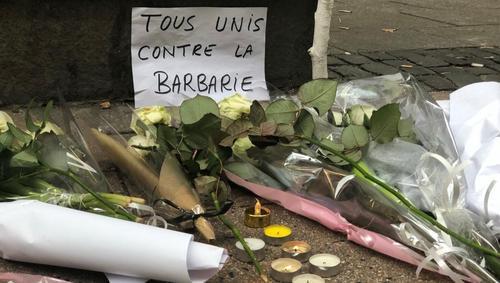 Жители Страсбурга почтили память жертв теракта «минутой шума»