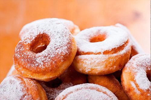Пышка vs пончик