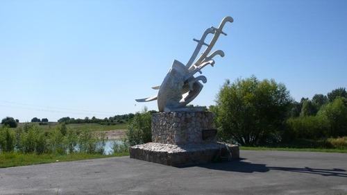 Достопримечательности Украины: Сумская область - Шаповаловка, Поле Конотопской битвы