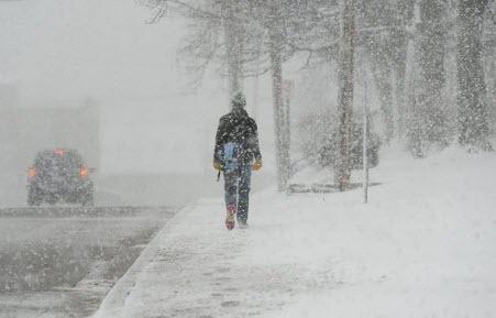 Прогноз погоди в Україні на 2 січня