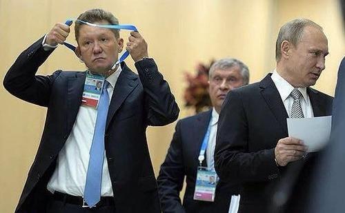 «Газпром» под арестом