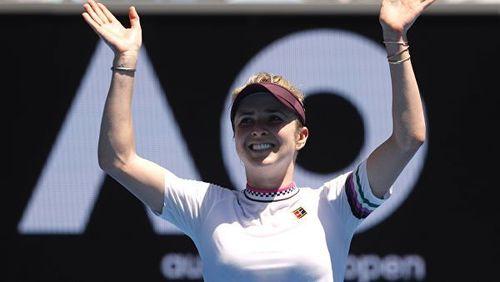Элина Свитолина вышла в 1/4 финала Australian Open