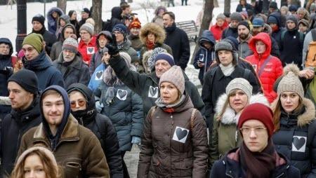В России прошли «Марши материнского гнева» против политических репрессий