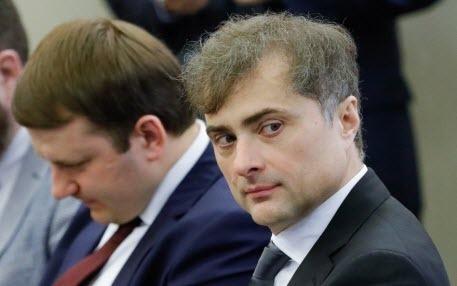 Что у Путина на уме, то у Суркова на языке