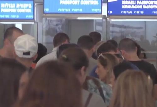 140 граждан Украины задержаны в аэропорту Бен-Гурион
