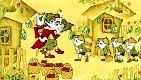 Українські мультфільми - Таємниця Країни Суниць (1973)