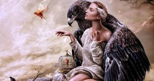 Притча «Женщина и птица»