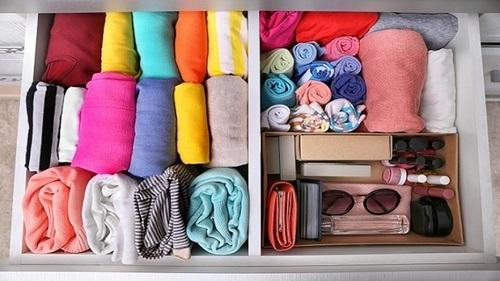 Как освободить много места в шкафу