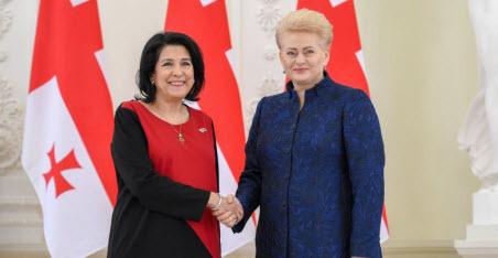 Президент Грузии: «Агрессивная политика России  – это путь к прошлому»