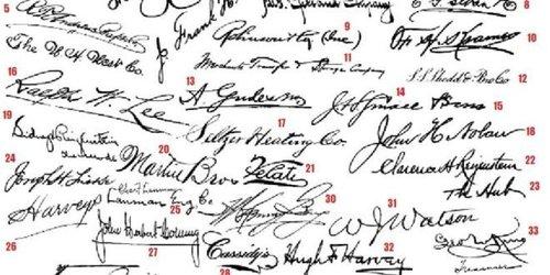 О чем говорит подпись человека