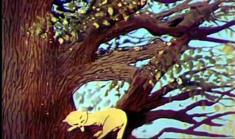 Українські мультфільми - Дерево і Кішка (1983)