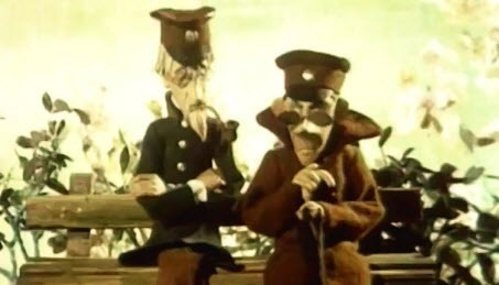 Українські мультфільми - Чоловік у Футлярі (1983)
