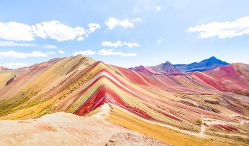 Разноцветная планета: Радужные горы