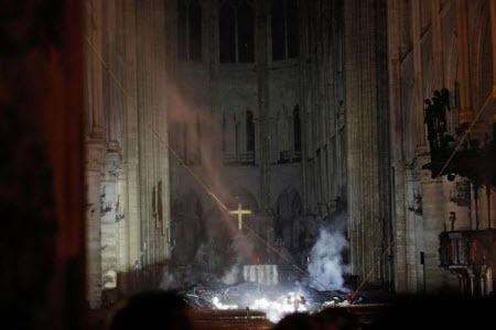 Пожарные Парижа: структура Нотр-Дам де Пари спасена