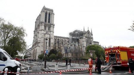 Нотр-Дам: прокуратура Парижа пока исключила версию поджога