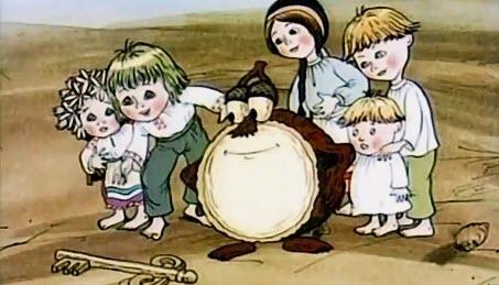 Українські мультфільми - Круглячок (1992)