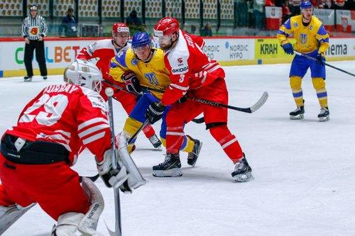Сборная Украины по хоккею потерпела второе поражение на ЧМ в Таллине