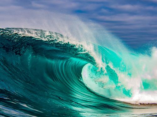 """Притча """"Катен и огромные волны"""""""