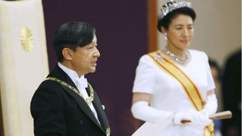 У Японии новый монарх - император Нарухито взошел на престол